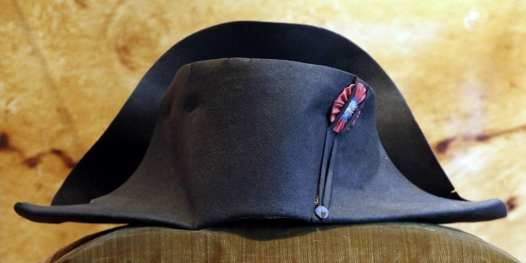 Pormenor do chapéu de Napoleão