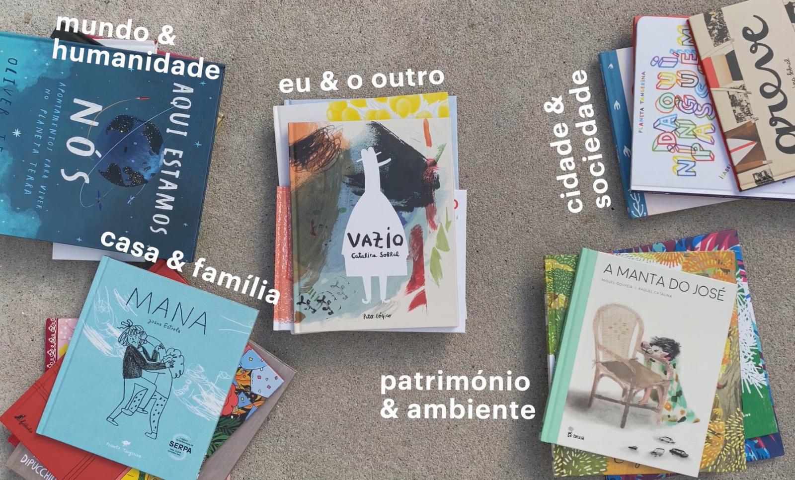 Livros agrupados por temas