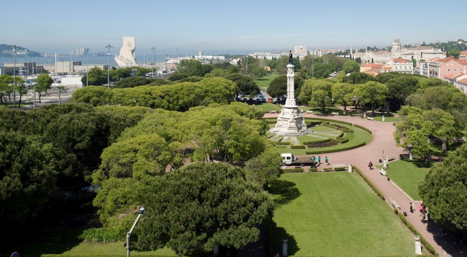 Vista aérea de Belém